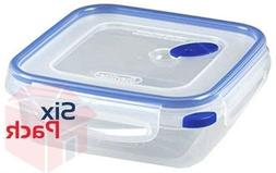 Sterilite 03314706 Ultra Seal 4.0 Cup Square Food Storage Co