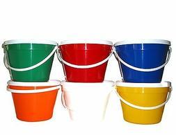 1  - 1 Gallon Bucket & Lid Made in USA Non Toxic Choice 6 Co