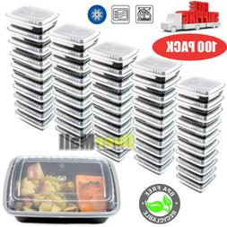 100 meal prep container plastic food storage
