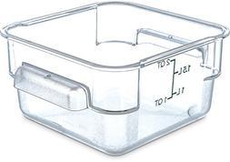 Carlisle 1072007 StorPlus 2 quart Square Food Storage Box, 7