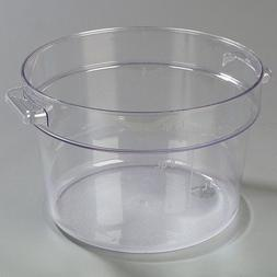 Carlisle 1076707 StorPlus Polycarbonate Round Food Storage C