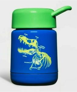 10oz Stainless Steel Food Storage Container Dino Blue - Cat
