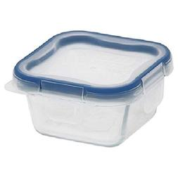 Snapware 1109328 6-Piece Glass Square Container Set With Tot
