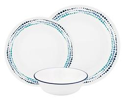 Pyrex 1127254 4 cup Storage Dish Cross Stitch Navy, Pack of