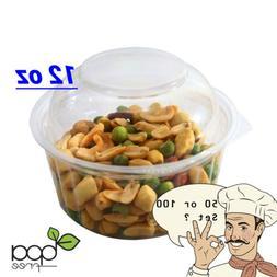 12oz Round Deli Food/Soup Restaurant Storage Container Cups