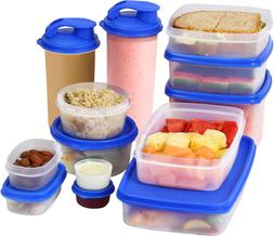 MILTON  Food Storage Containers with Lids- Plastic Food Cont