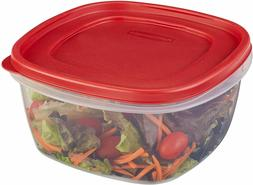 RUBBERMAID 14 CUP EASY FIND LID SQUARE FOOD STORAGE CONTAINE