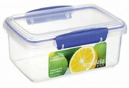 Sistema 1600 Klip It Collection Rectangle Food Storage Conta