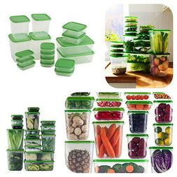 17 Plastic Food Storage Containers Saver Container for Kitch