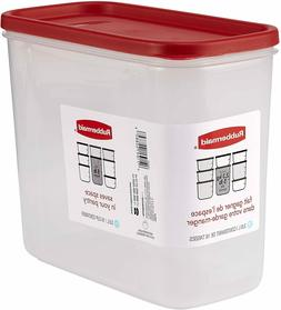 Rubbermaid 1776472 16-Cup  Dry Food Container, Clear