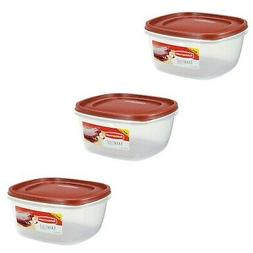Rubbermaid 1777161 Easy Find Lid Food Storage Container 14 C
