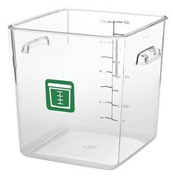 Rubbermaid Commercial Products 1980331 Square Plastic Food S