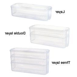 1pc Plastic <font><b>Storage</b></font> Bins Refrigerator <f