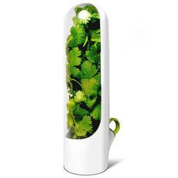 1pk/3pk Herb Saver Pod For Refrigerator Food Storage Contain