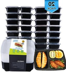 20 bpa lunch prep containers