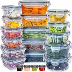 - Food Storage Containers with Lids - Plastic Food Container