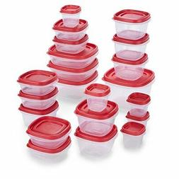 Rubbermaid 2065352 Easy Find Lids Food Storage Containers, 4