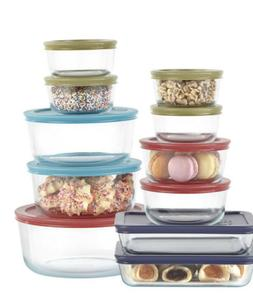 Pyrex 22 Piece Food Storage Container Set - Brand New In box