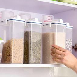 2KG Cereal Dispenser Storage Box Kitchen Food Storage Grain