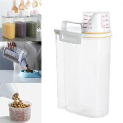 2kg Storage Box Rice Container Kitchen Food Grain Cereal Dis