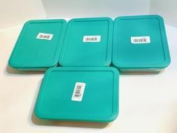 Pyrex 3-cup Rectangle Glass Food Storage Set Container