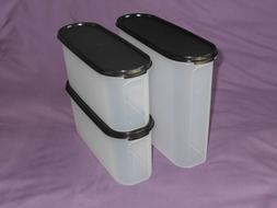 Tupperware 3 super oval Modular mates food storage container