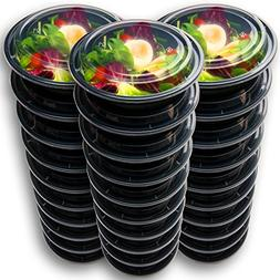 30 Meal Prep Containers Reusable - Disposable Food Container