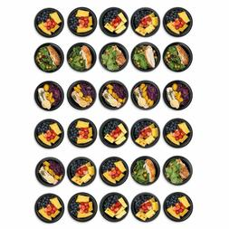 Prep Naturals 30 Round Meal Prep Containers
