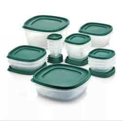 Rubbermaid 30pc Food Storage Container Set with Easy Find Li