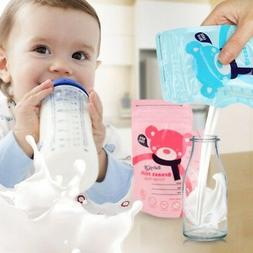 30Pcs Baby Food Breastfeeding Storage Bag Milk Freezer Conta