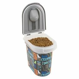 Paw Prints 37715 15 lb. Pet Airtight Food Storage Container,