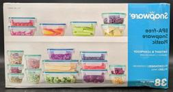 Snapware 38-Piece Plastic Food Storage Set Complete Solution