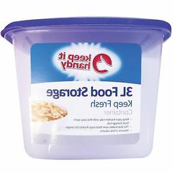 3L Food Storage Box Kitchen Lid Foods Rice Pasta Container S