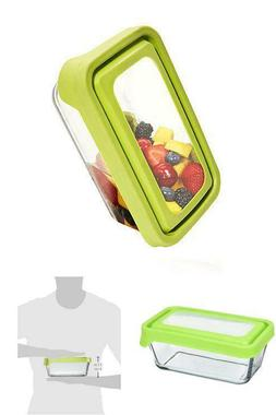 Anchor Hocking 4 3/4-Cup Rectangular Food Storage Containers