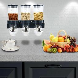 Dry Food Dispenser Storage Cereal Container Machine Single C