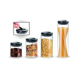 RhinoGlass 4-piece kitchen storage container set, heavy-duty