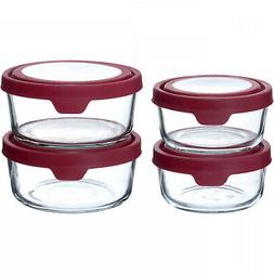 Anchor Hocking 4-Piece TrueSeal Food Storage Set 4cup and 7c