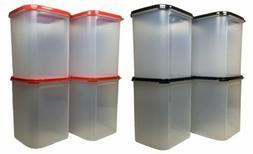 Tupperware 4x Modular Mate Square IV 5.5L Airtight Container