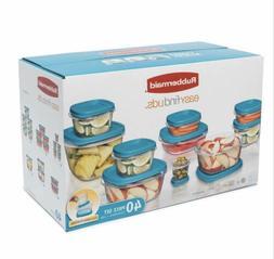 Rubbermaid 40 Pc Food Storage Set Dishwasher, Microwave and