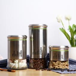 400ml 600ml 850ml Coffee Jar <font><b>Glass</b></font> <font