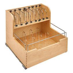 Rev-A-Shelf 4FSCO-24SC-1 Food Storage Container Organizer, N