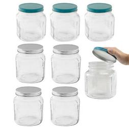 4pk Anchor Hocking 32oz Glass Food Storage Containers Lids J
