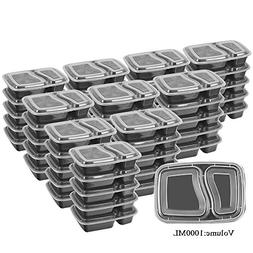 50 SZUAH Meal Prep Containers - Bento Lunch Boxes with Lids