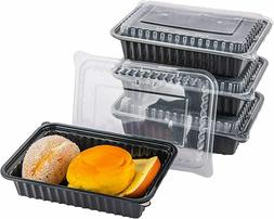 50 Pack Bulk Meal Prep Containers with Lids, Reusable Food D