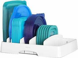 YouCopia 50100 StoraLid Food Container Lid Organizer, Large,