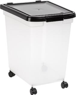 50lbs Airtight Pet Cat & Dog Food Container Storage Bin Anim