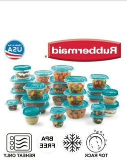 50pc set rubbermaid takealongs twist seal food