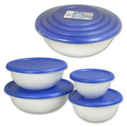 Sterilite 8-Piece Bowl Set - CASE OF 6