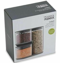 Joseph Joseph 81072 Podium Dry Food Storage Container Set wi