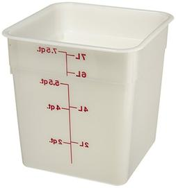 Cambro 8SFSP-148 Poly CamSquare 8 quart Food Storage Contain